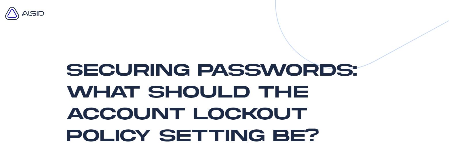 Securing Passwords