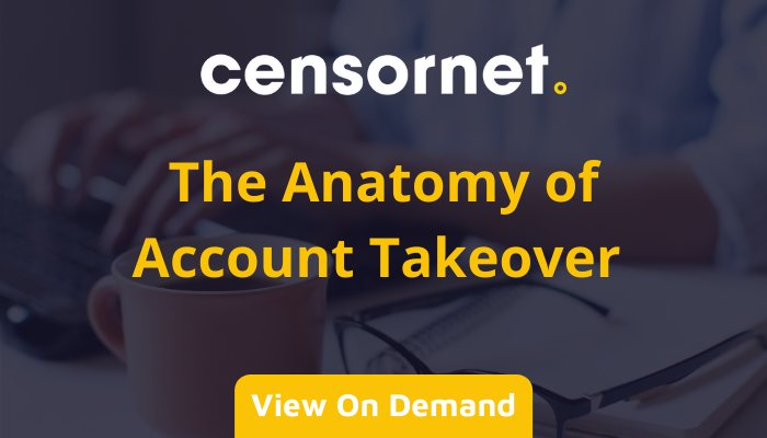 The Anatomy of Account Takeover