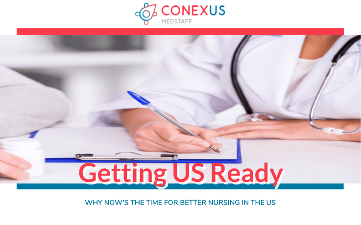 Download your free copy of our Official Guide to Getting US Ready - the training program for international nurses working in the US